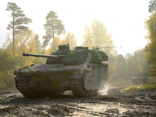 CV 90 Crédit photo : Norwey Army