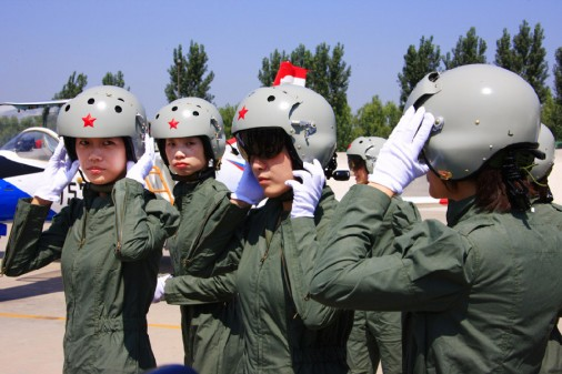 Chinese Female Pilots_pos0104