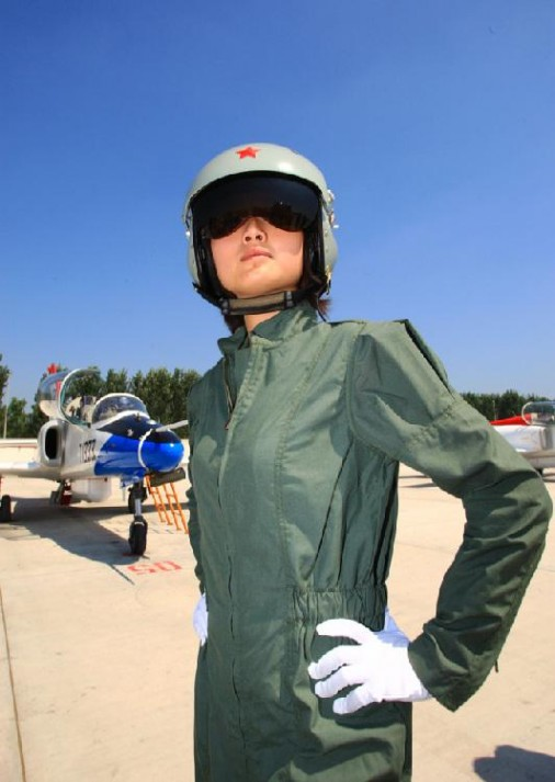 Chinese Female Pilots_pos0109