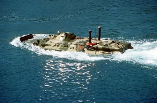 BTR-80 swim