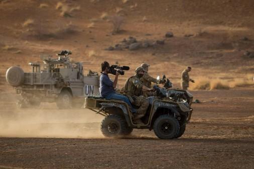 Cameraman Netherlands Army