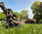 Middle Range Missile, MMP, MBDA France. Satory, France. April 23