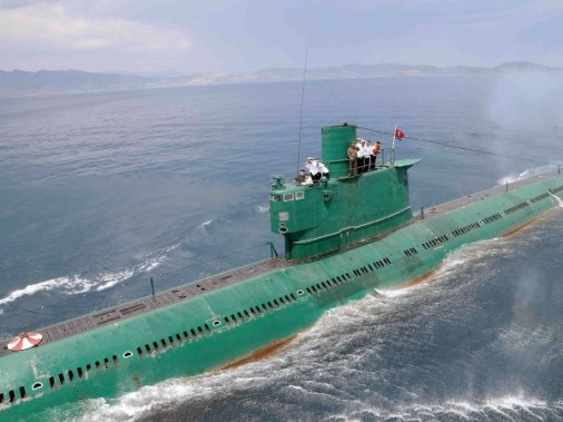 North Korea submarine 04