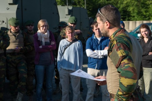Belgian Army reporter 101