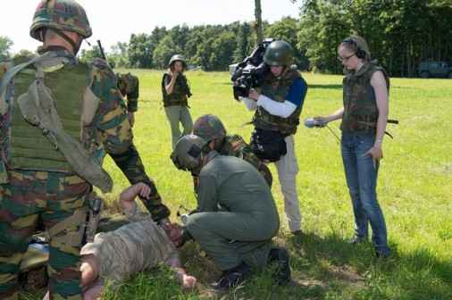 Belgian Army reporter 104