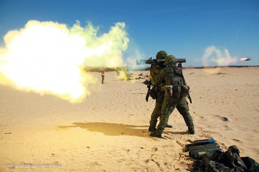 Carl Gustaf Lituanie firing