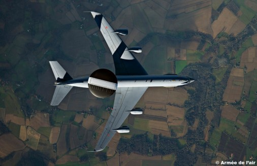 E-3F AWACS 102 France