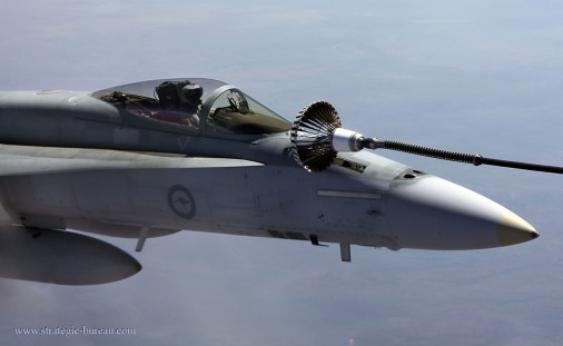 Pitch Black 2014 - Air to Air Refuelling