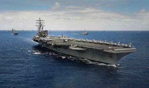 Rimpac-001 USS Ronald Reagan CVN76