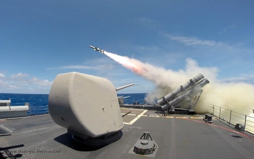 USS Chosin Harpoon Launch, RIMPAC 2014
