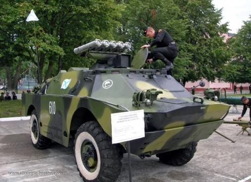 BRDM-2 AT-5 107