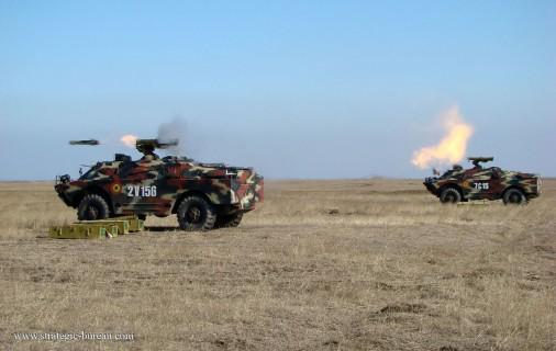 BRDM-2 AT-5 110