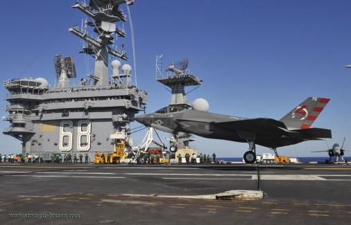 F-35C USS Nimitz A001