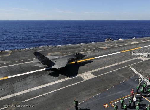 F-35C USS Nimitz A002