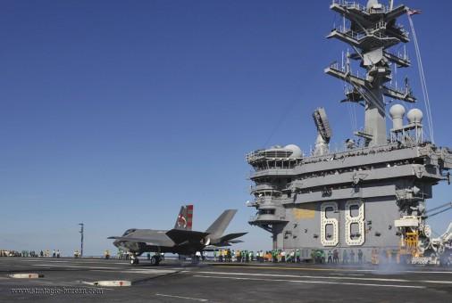 F-35C USS Nimitz A003