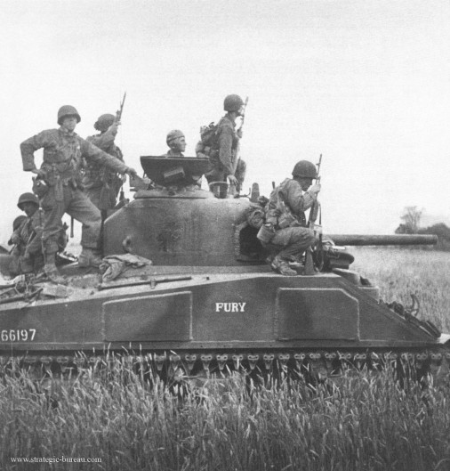 M4 Sherman Fury A001