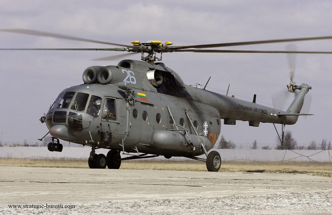 Elicottero Mi 8 : Mi hip strategic bureau of information