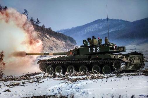 Type-99 firing A103