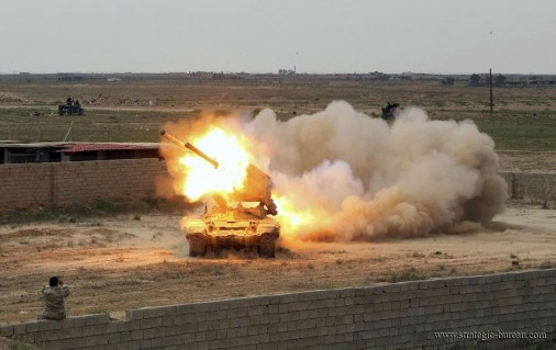 TOS Iraq Firing A002