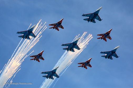 120 MiG-29 Su-27