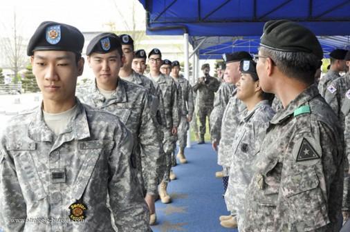 Corean soldiers A001