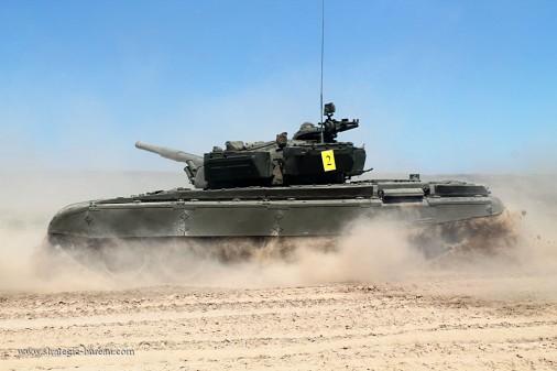 Kazakhstan T-72 A001