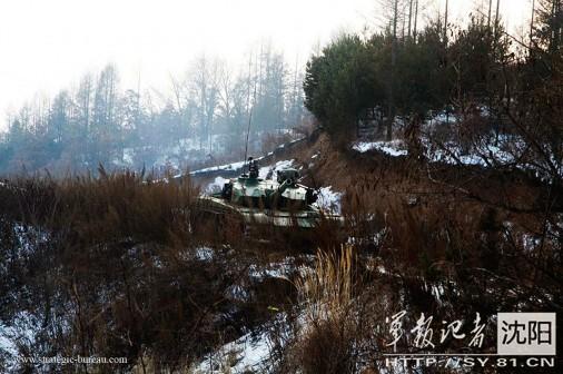 ZTZ-99 firing A202