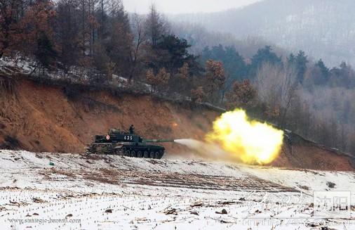 ZTZ-99 firing A204