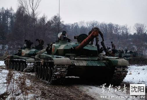 ZTZ-99 firing A205