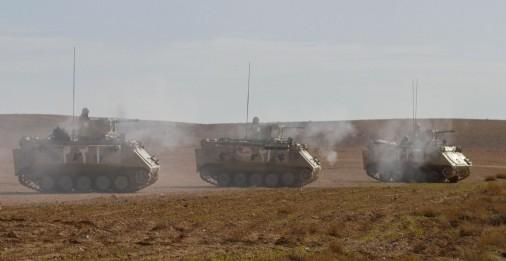 M-113 Jordanie tir A001