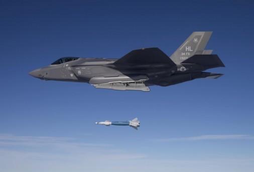 F-35A GBU-12 A001