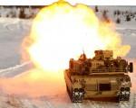 M1A1 firing Norvège A000x506