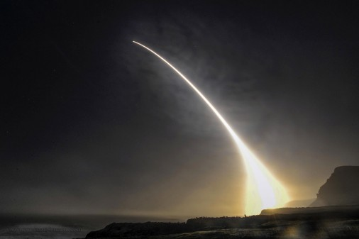 Minuteman III launch A001