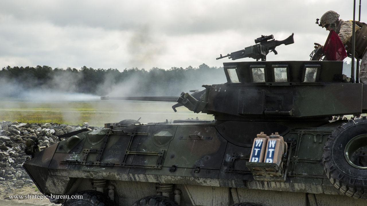 LAV-25 live-fire exercise | Strategic Bureau of Information