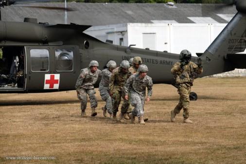 UH-60 Medevac A104
