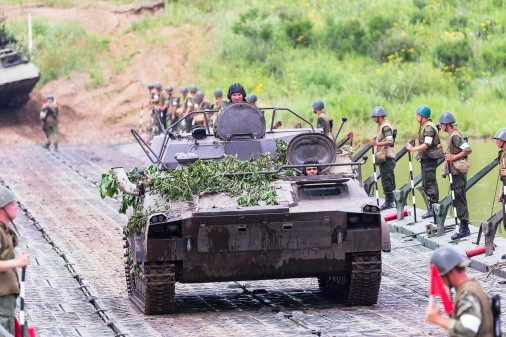 UR-77 tir A105