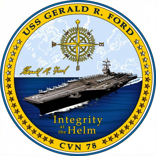 USS-Gerald-Ford-A205-insigne