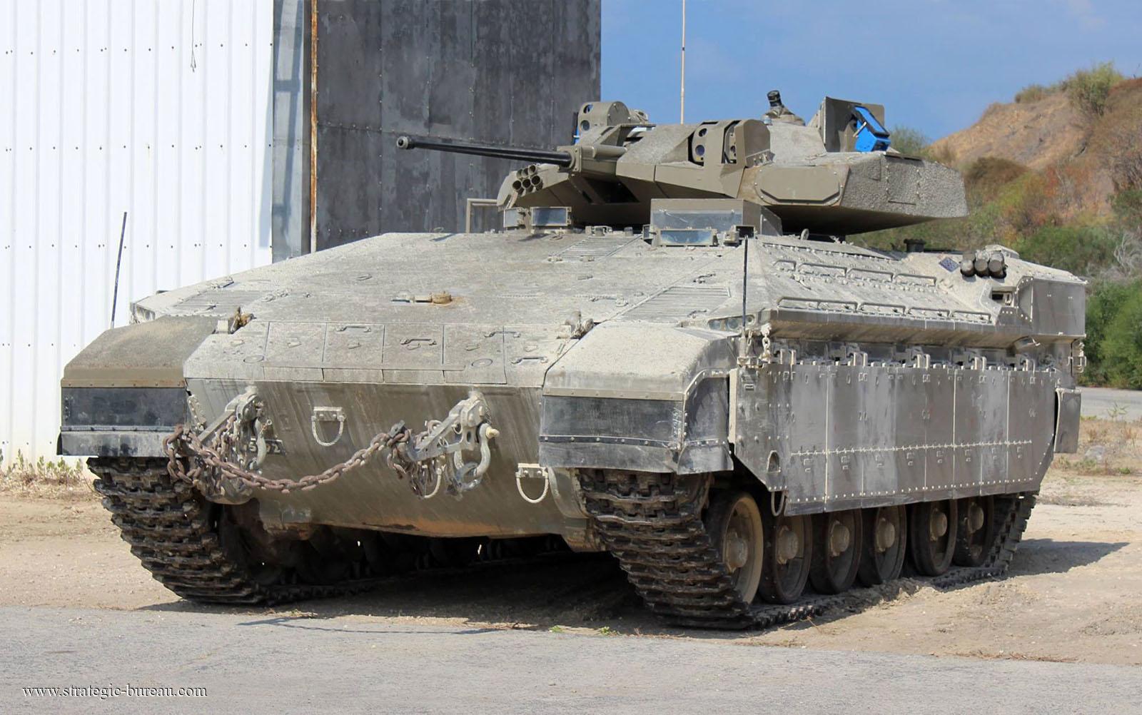 Arme Prototype prototype du namer armé d'un canon de 30 mm   strategic bureau of