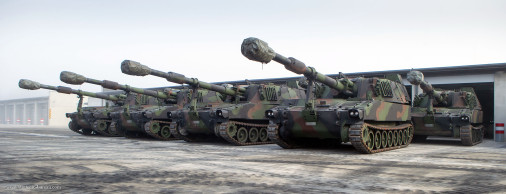 M109A5OE_artillerie_A105s_Lettonie