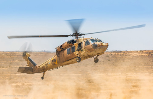 Israel_helicoptere_A101_UH-60_Yanshuf