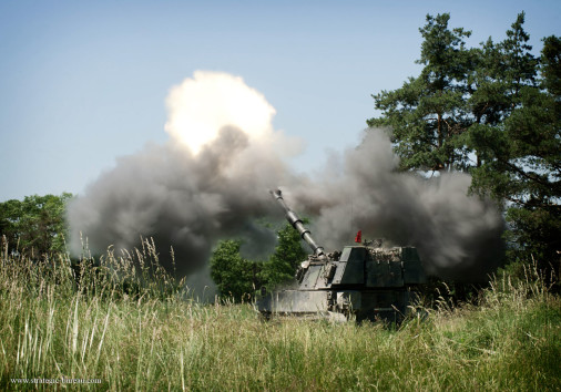 M109_artillerie_Autriche_A101_tir