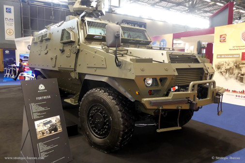 Milipol-2019_vehicules_A203_Fortress