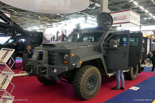 Milipol-2019_vehicules_A207_Lenco