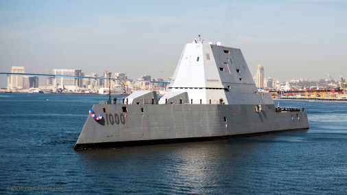 DDG-100_Zumwalt_destroyer_USA_A401