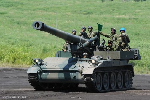 M110_artillerie_USA_003_M110A2_Japon